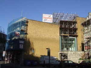 Bath scaffolding
