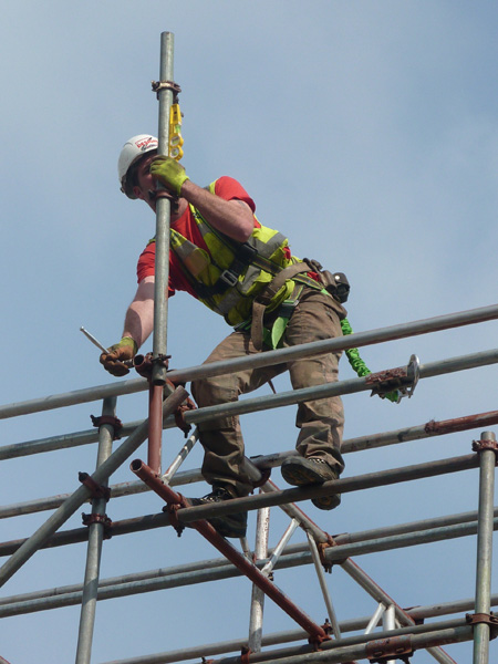 Working On Scaffolding : Scaffolding health and safety design