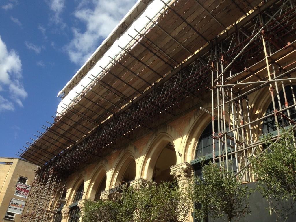 park street scaffold hite
