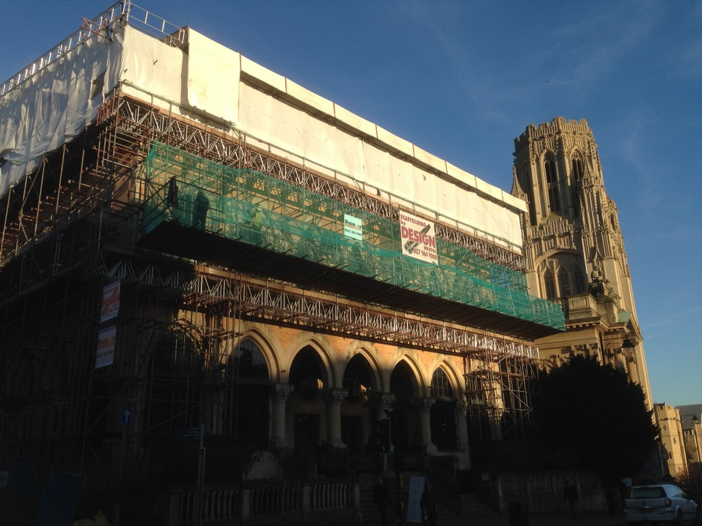 temporary roofing scaffolding hire