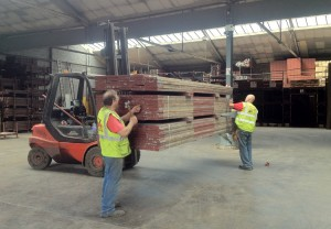 scaffolding yard in bristol
