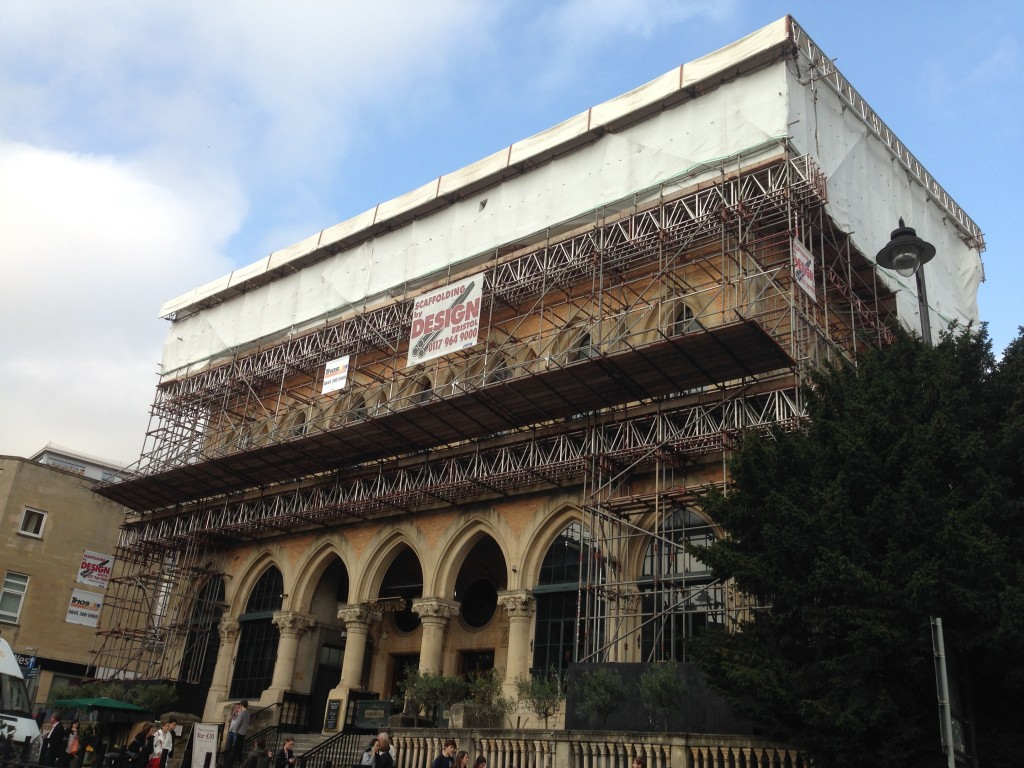 Browns clifton bristol scaffold