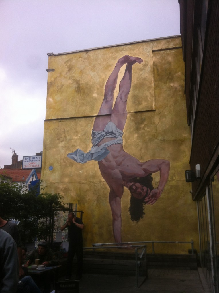completed bristol mural by cosmo