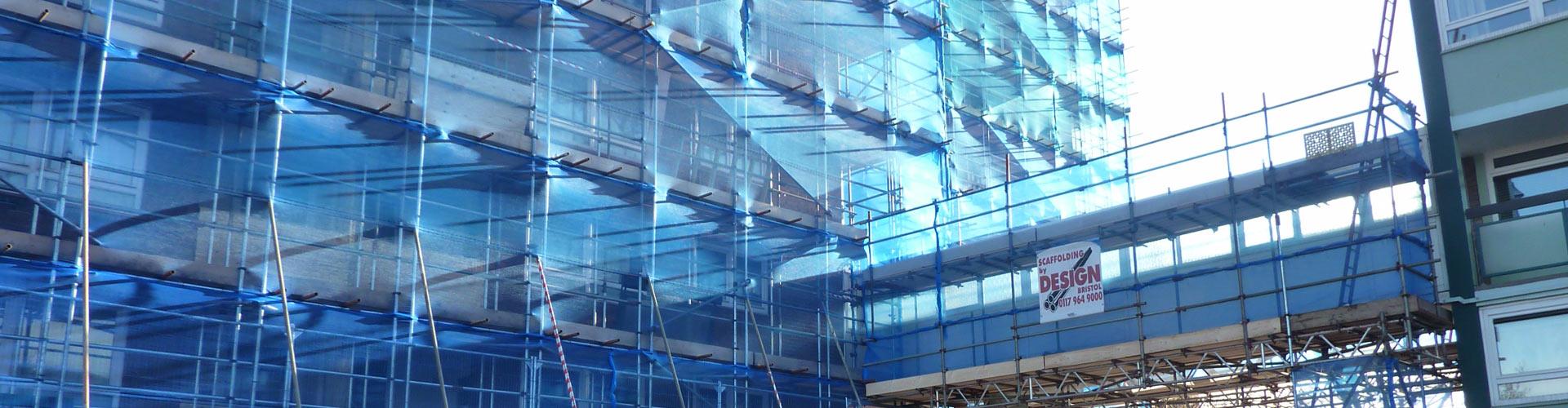debris netting for scaffolding
