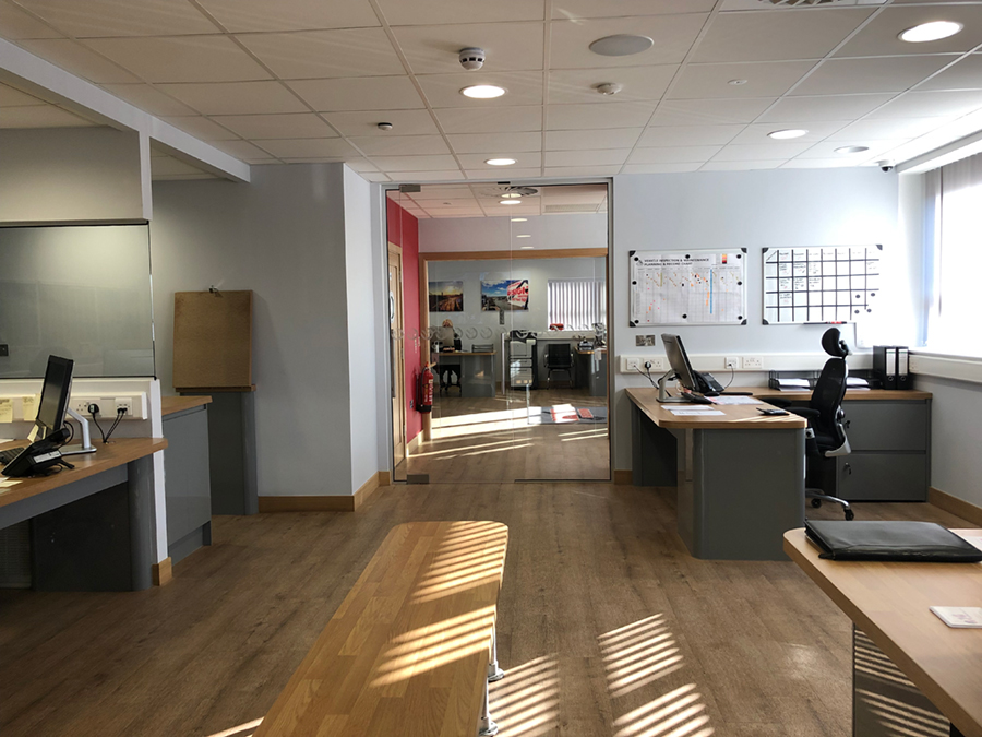 offices design scaffolding hire somerset