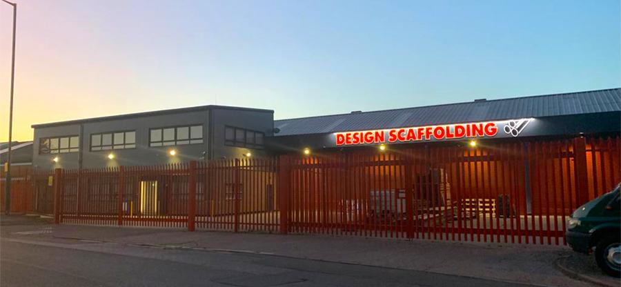 design scaffolding hire bristol