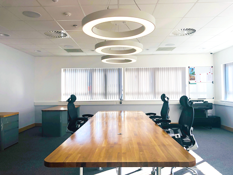 design scaffolding meeting room bristol